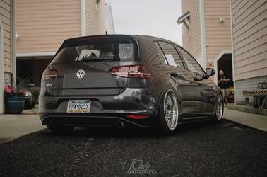 2015 Volkswagen GTI | VW MK7 GTi on Forgeline LS3 Wheels