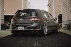 VW MK7 GTi on Forgeline LS3 Wheels