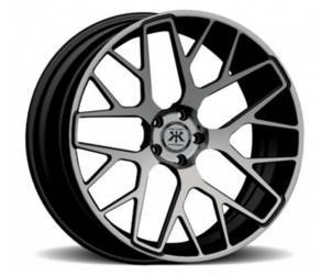 "Rennen forged RL 50 reverse lip (20"" x 11"" front. 20"" x 12"" rear) wheels"