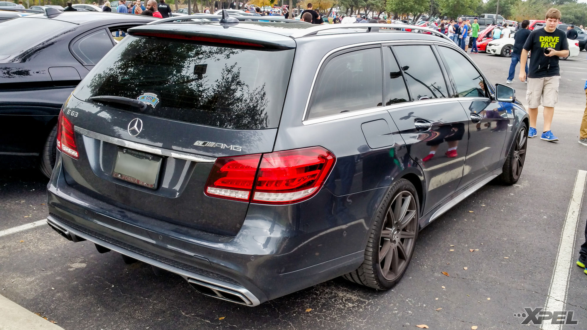 Mercedes-Benz E63 AMG | Protected with XPEL ULTIMATE self-healing clear bra