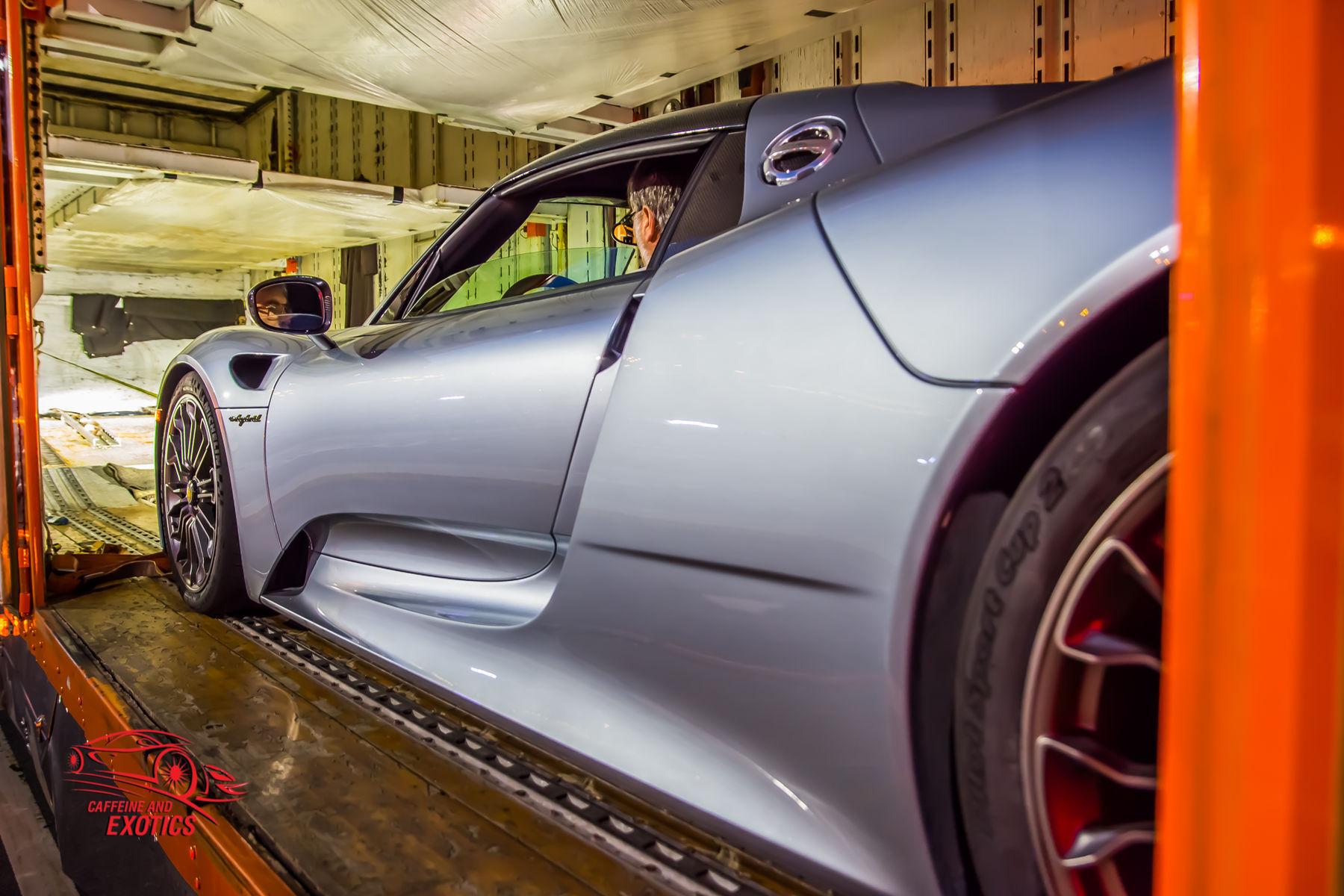 Porsche 918 Spyder | Porsche 918 Spyder In The Truck