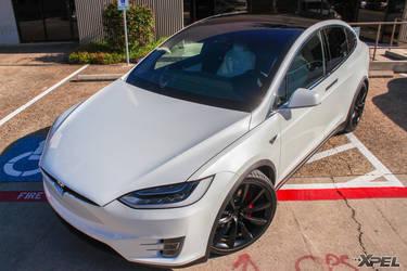 2016 Tesla Model X | Tesla Model X Fully wrapped with XPEL