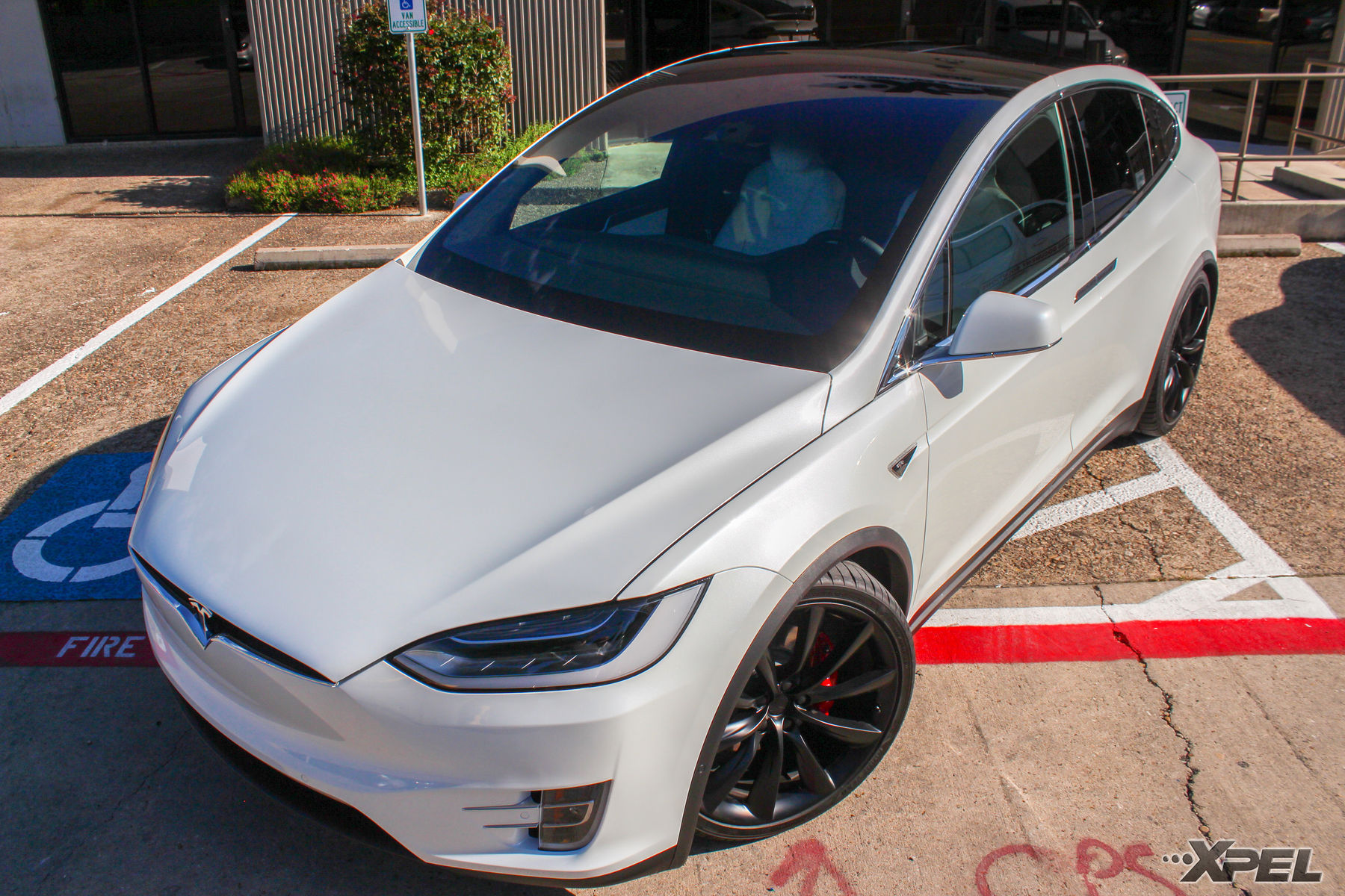 2016 Tesla Model X | Tesla Model X Fully wrapped with XPEL