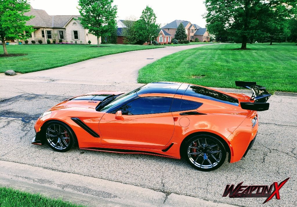 2019 Chevrolet Corvette ZR1 | Weapon X Motorsport's 800HP C7 Corvette ZR1 on Forgeline One Piece Forged Monoblock VX1R Wheels