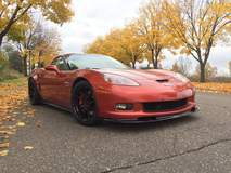 Joe Garofalo's C6 Corvette Z06 on Forgeline One Piece Forged Monoblock GA1R Wheels