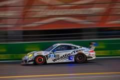 WeatherTech Alex Job Racing #22 GTD Porsche on Forgeline One Piece Forged Monoblock GTD1 Racing Wheels