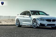 BMW M4 - White Side Angled Shot