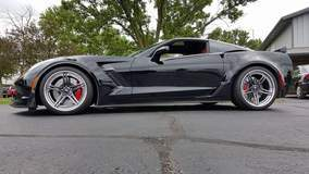 Steve B's C7 Corvette Z06 on Forgeline SC3C-SL Wheels