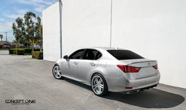 '13 Lexus GS350 on Concept One CS5.0's
