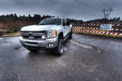 Rigid Industries Chevy 2500 LED Grille