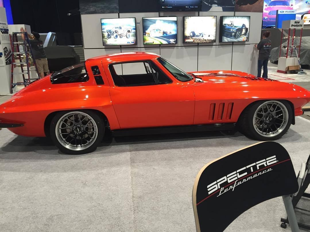 Chevrolet Corvette | SCAR C2 Corvette on Forgeline DE3C Wheels