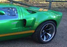 Custom Ford GT40 Replica on Forgeline Grip Laguna Wheels