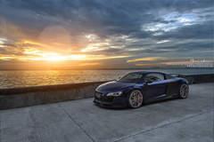 Audi R8 / Brixton Forged R10D Targa Series