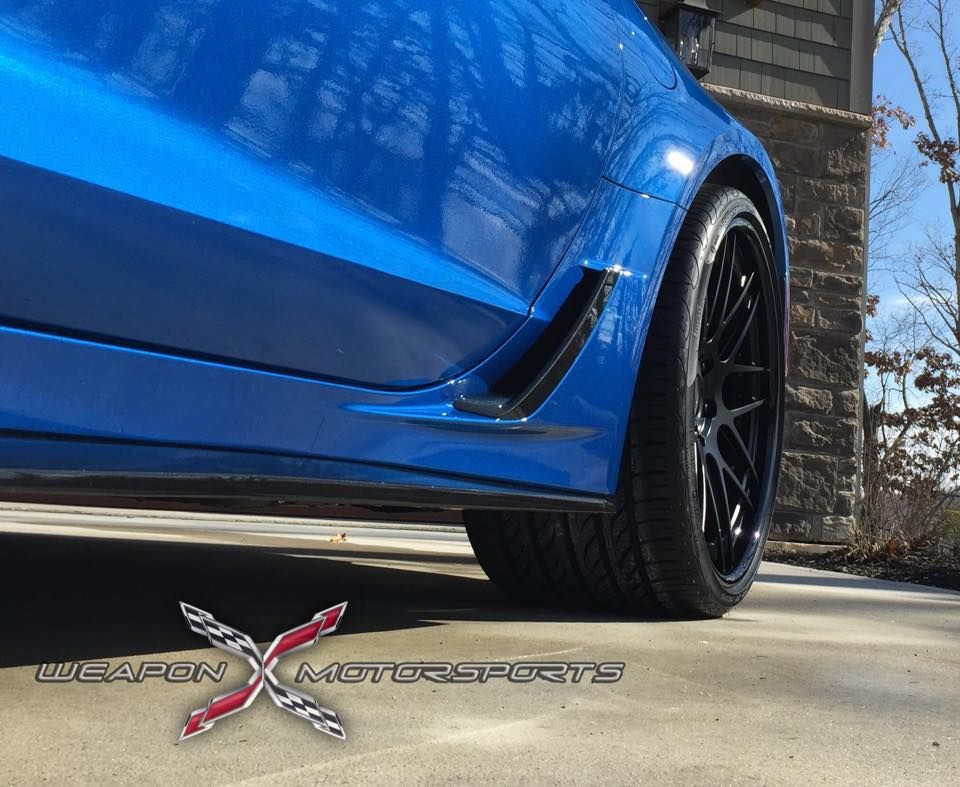 2015 Chevrolet Corvette Z06 | Laguna Blue C7 Corvette Z06 on Forgeline DE3C-SL Wheels