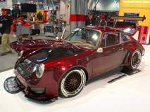 The Custom Shop's 1970 Porsche 911 on Forgeline Heritage Series LS3 Wheels