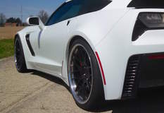 Randy Trott's C7 Corvette Z06 on Forgeline DE3C-SL Concave Stepped Lip Wheels