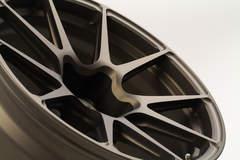 GA1R Open Lug Cap Edition Wheel in Matte Bronze