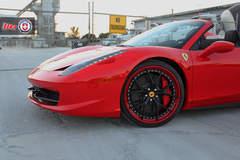 Ferrari 458 Spider on HRE S101