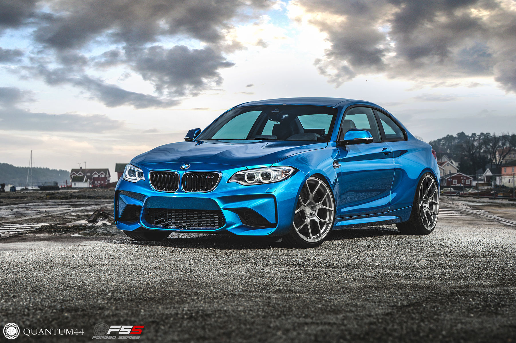 BMW M2 | BMW M2 Coupe - Quantum44 FS5 Forged Wheels