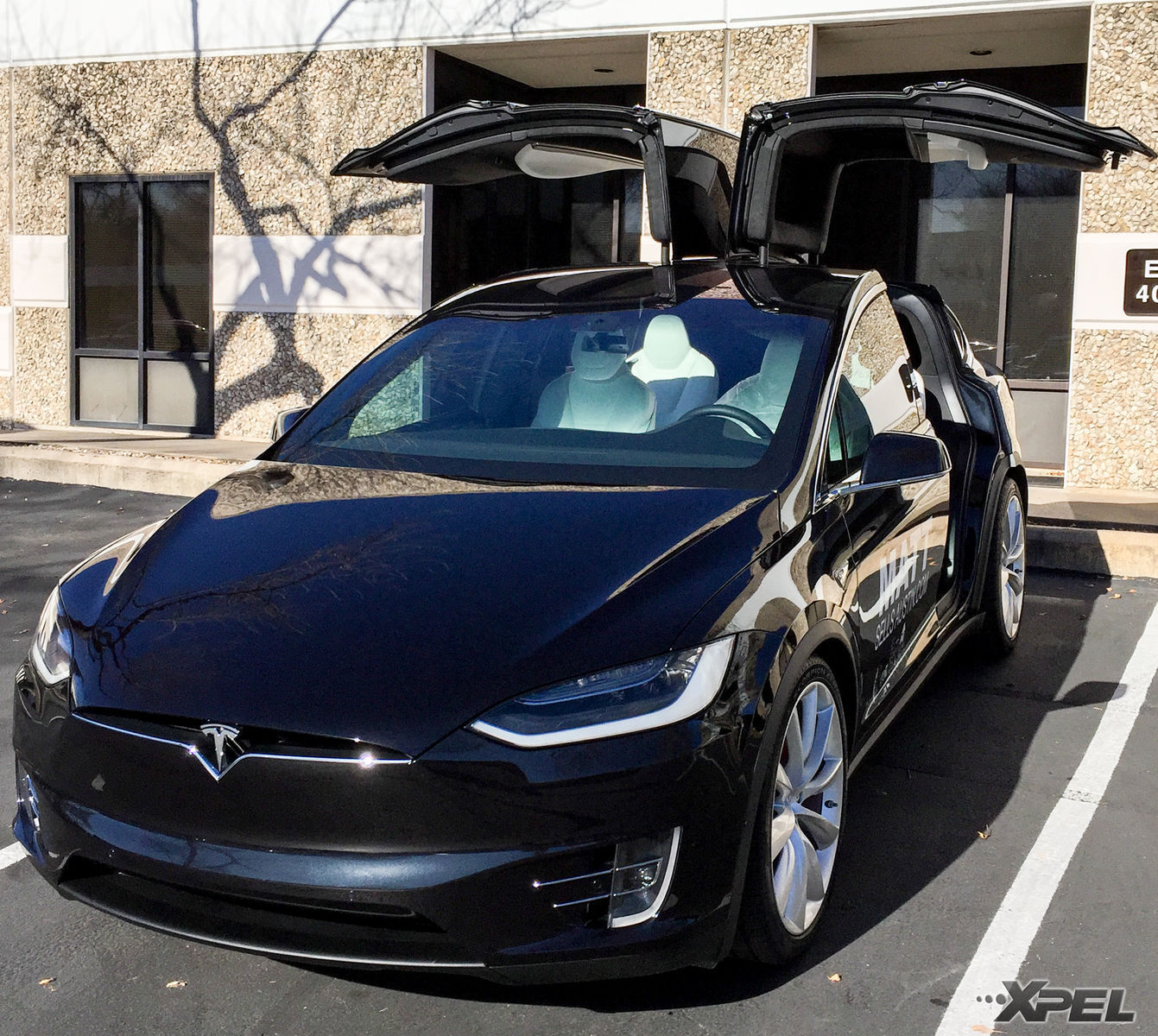 2016 Tesla Model X | Tesla Model X at XPEL Austin for XPEL ULTIMATE clear bra