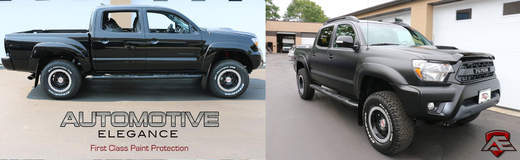 Toyota Tacoma TRD fully wrapped with XPEL STEALTH
