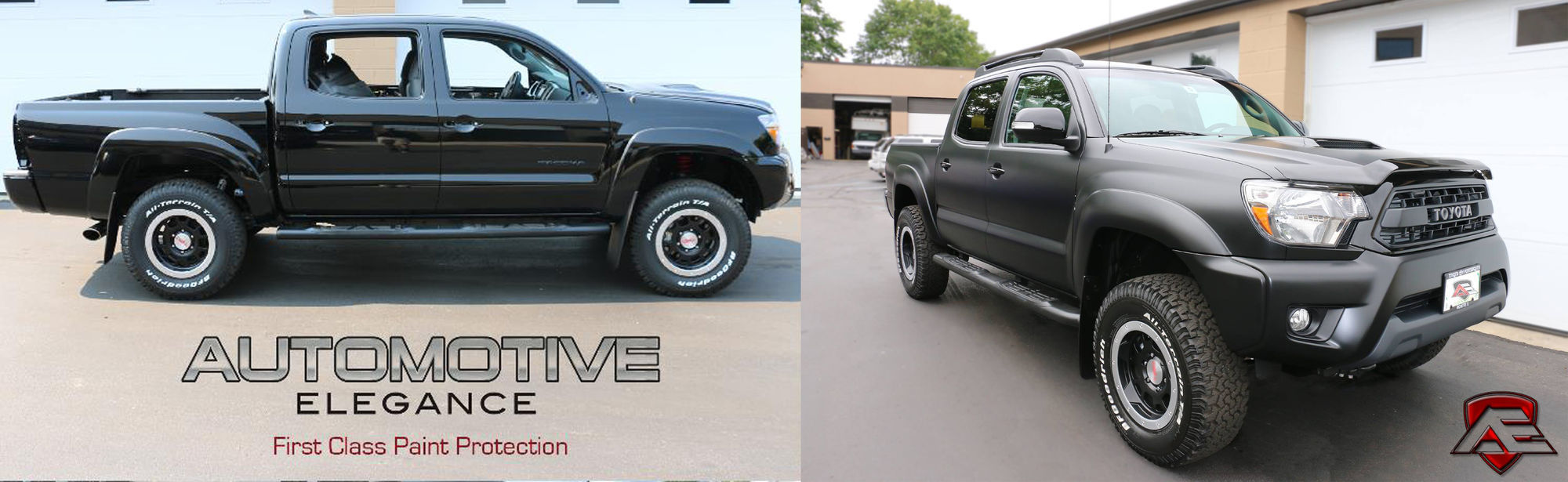 2015 Toyota Tacoma | Toyota Tacoma TRD fully wrapped with XPEL STEALTH