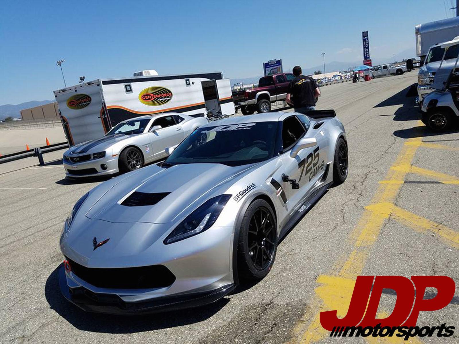 2017 Chevrolet Corvette Z06 | Jordan Priestley Wins at NMCA West Autocross in the JDP Motorsports Covette Grand Sport on Forgeline GA1R Open Lug Wheels