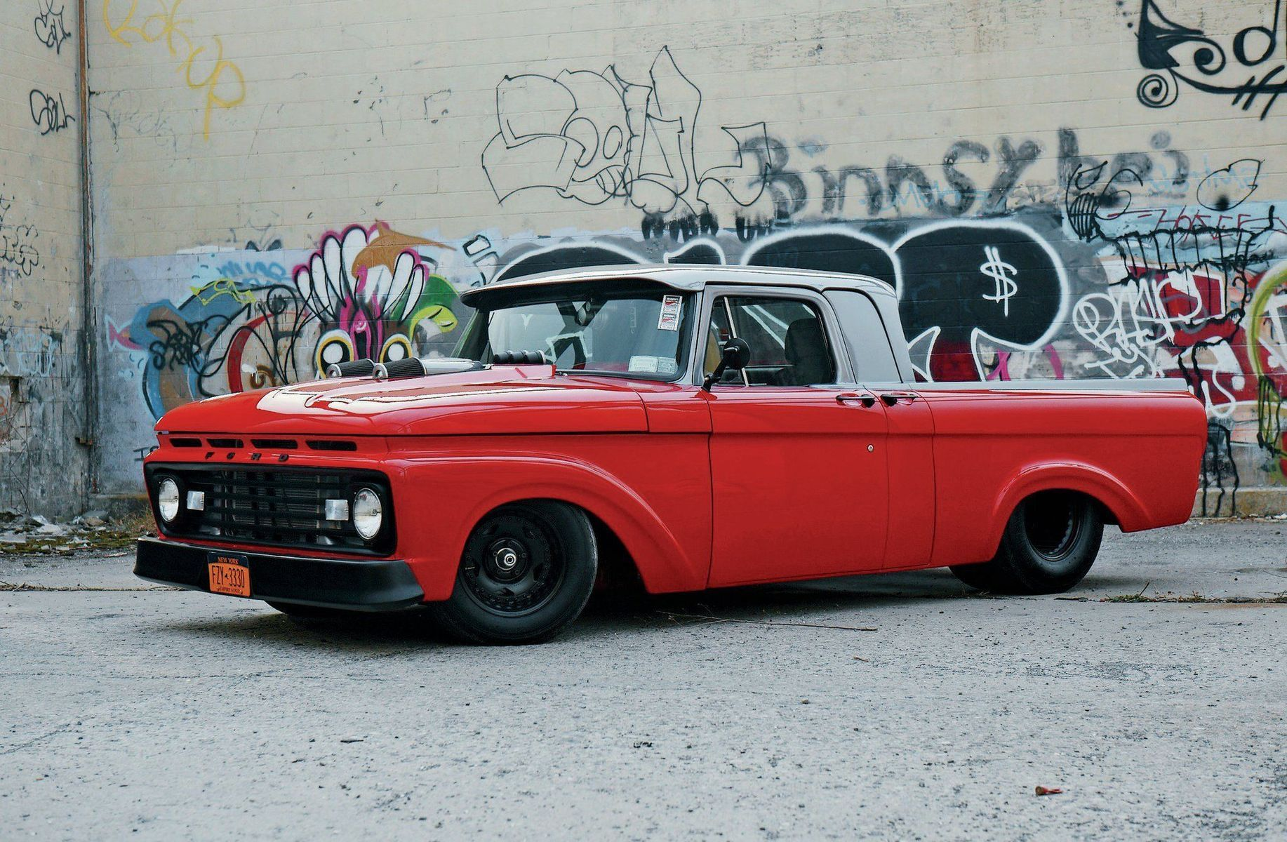 1963 Ford  | Custom Pro-Touring '63 Ford F-100