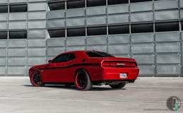 Franjo Speed's Supercharged Dodge Challenger 392 on Grip Equipped Grudge Wheels