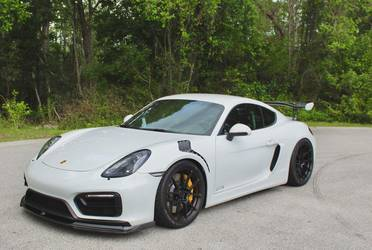 2018 Porsche Cayman | BGB Motorsports' Porsche Cayman GT4RS on Forgeline One Piece Forged Monoblock GA1R Open Lug Wheels