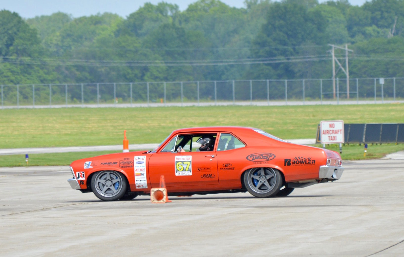 1972 Chevrolet Nova   Billy Utley's '72 Nova on Forgeline Heritage Series FF3 Wheels at the 2016 Midwest MuscleCar Challenge