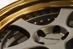 Forgeline Heritage Series RS3 in Matte Bronze and Tinted Gold