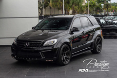 '12 Mercedes-Benz ML63 on ADV.1's