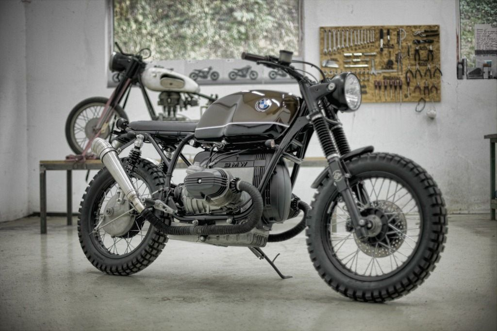 1986 BMW R100 | Espresso By 7Seven Customs