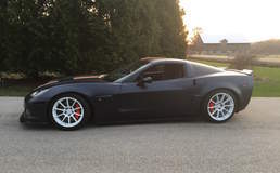 Randy Johnson's D&Z Customs C6 Corvette Z06 on Forgeline One Piece Forged Monoblock GTD1 5-Lug Wheels