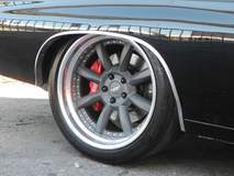 Greg Heinrich's 1970 Chevelle on Grip Equipped Laguna Wheels at the 2014 SEMA Show