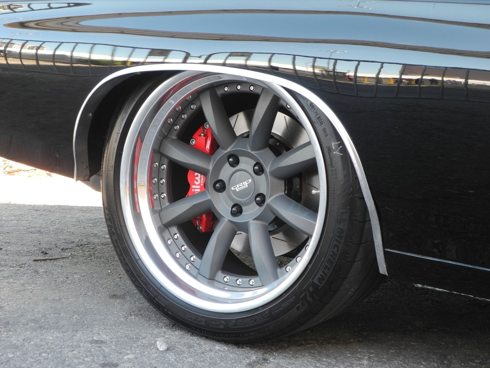 1970 Chevrolet Chevelle | Greg Heinrich's 1970 Chevelle on Grip Equipped Laguna Wheels at the 2014 SEMA Show