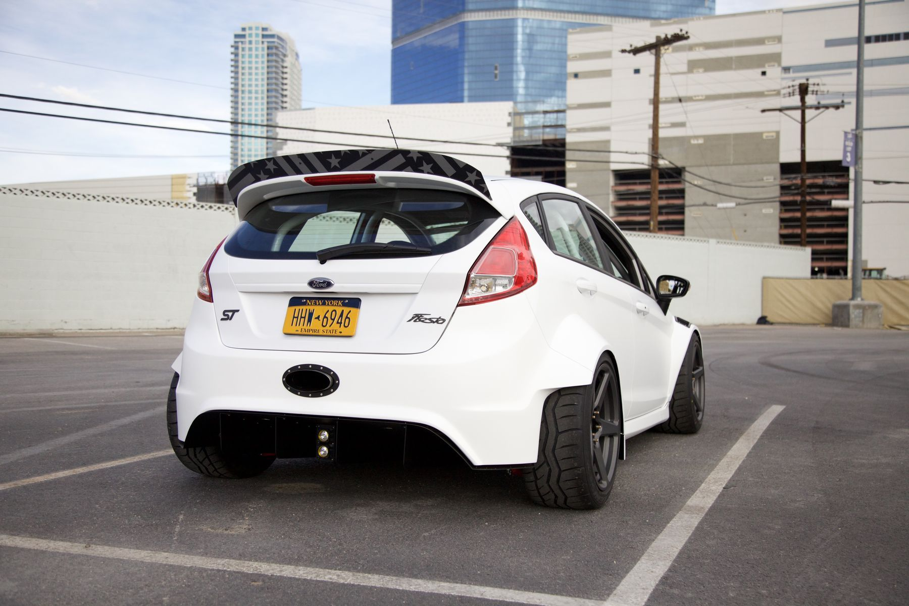 2016 Ford Fiesta St By Tucci Hot Rods Widebody Fordsema
