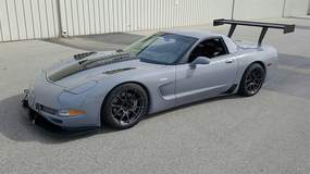 Karl Dunn's C5 Corvette Z06 on Forgeline One Piece Forged Monoblock GA1R Wheels