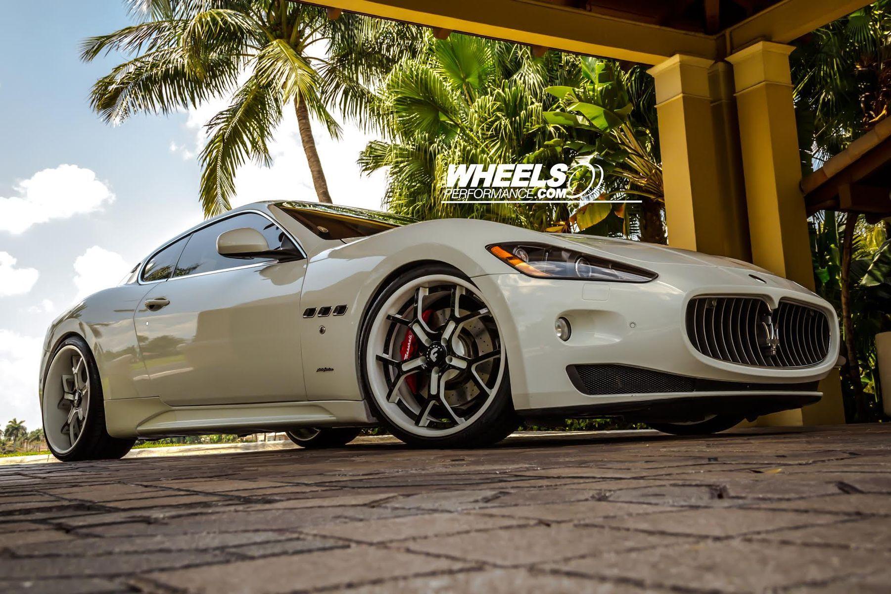 2010 Maserati GranTurismo | OUR CLIENT'S MASERATI GRAN TURISMO WITH 21/22