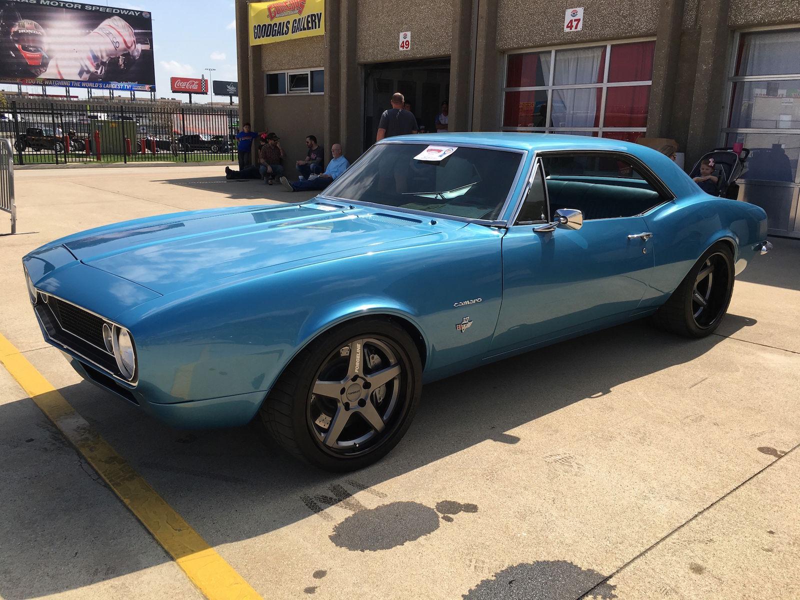 1967 Chevrolet Camaro | Jason's '67 Camaro on Forgeline CF3C Wheels Earns Goodguys Best Ride on BFGs Award