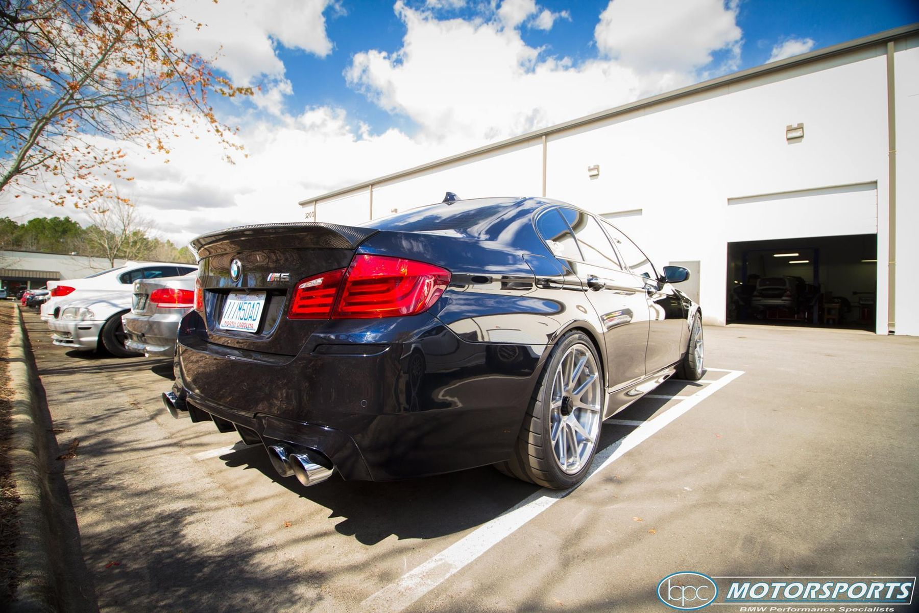 2016 BMW M5 | Ruben's Ronin Speed Industries BMW F10 M5 on Center Locking Forgeline One Piece Forged Monoblock GA1R Wheels