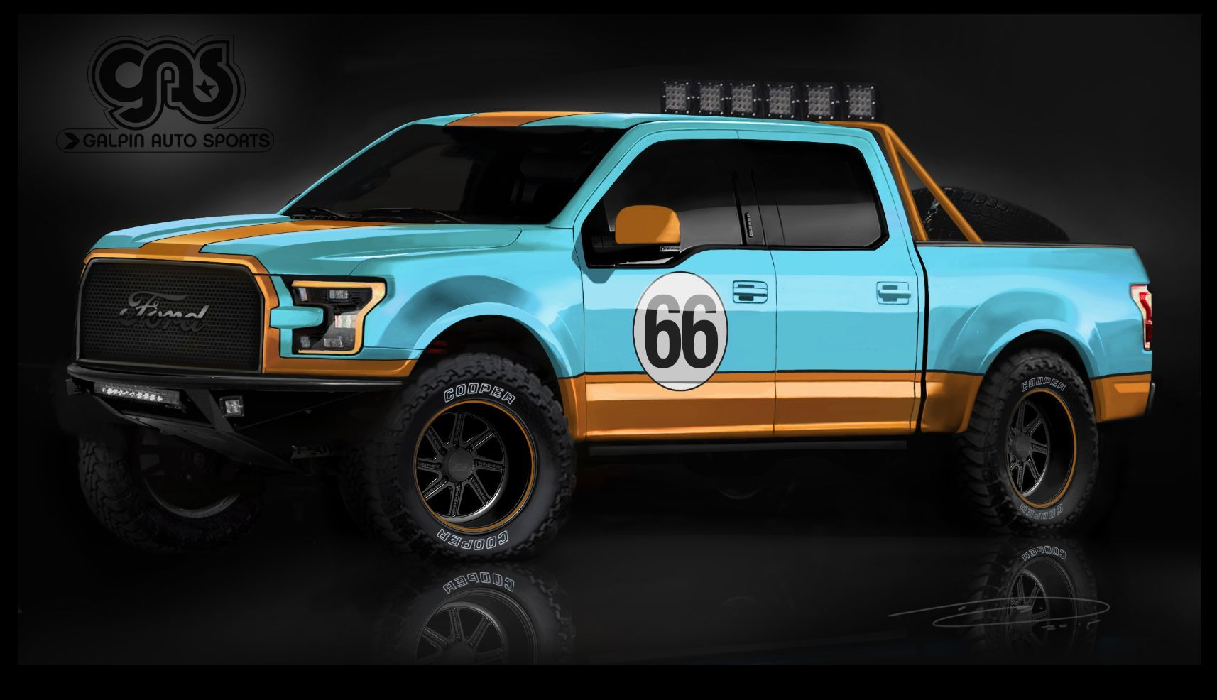 2015 Ford F-150 | 2015 Galpin Auto Sports (GAS) Ford F-150 Render