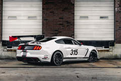 Scott Forster's Ford Mustang FP350S on Forgeline One Piece Forged Monoblock GS1R Wheels