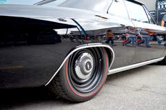 Luke's Roadster Shop '66 Chevelle on Forgeline RS-OE1 Wheels