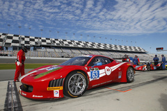Ferrari with Continental Tires at the 2014 Rolex 24