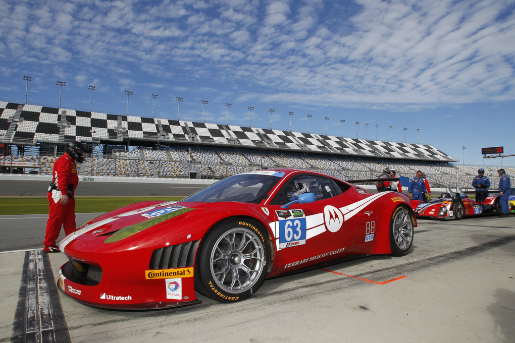 | Ferrari with Continental Tires at the 2014 Rolex 24