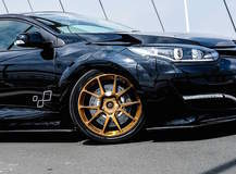 Renault Megane RS Trophy R on Forgeline GS1R Wheels