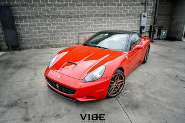 "2015 Ferrari California | Ferrari California on 20"" Ferrada F8 FR5 Wheels - Team Vibe"