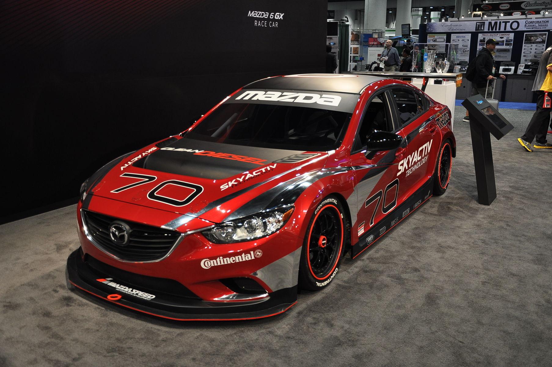 2014 Mazda MAZDA6 | Mazda Diesel Racer @ SEMA '13